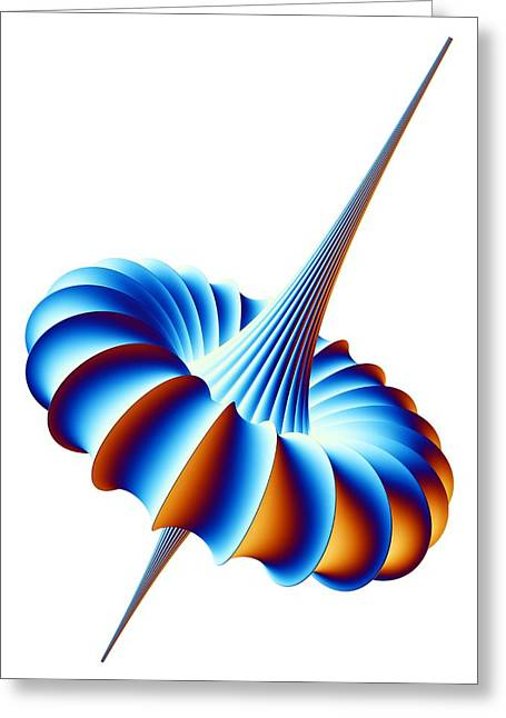 Mathematical Model, Artwork Greeting Card by Pasieka