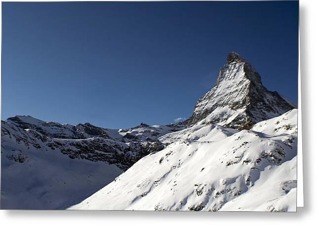 Matterhorn Greeting Card by Adam West