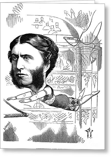Matthew Arnold (1822-1888) Greeting Card