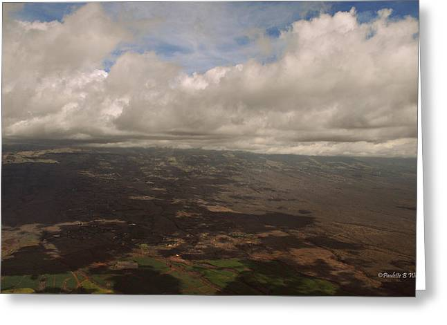 Maui Beneath The Clouds Greeting Card by Paulette B Wright