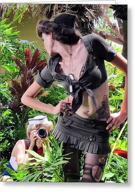 Maui Photo Festival 4 Greeting Card by Dawn Eshelman