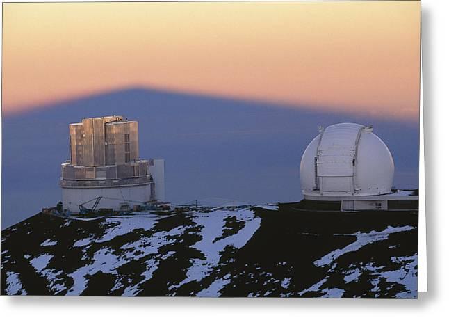 Mauna Kea Observatory, Hawaii Greeting Card by G. Brad Lewis