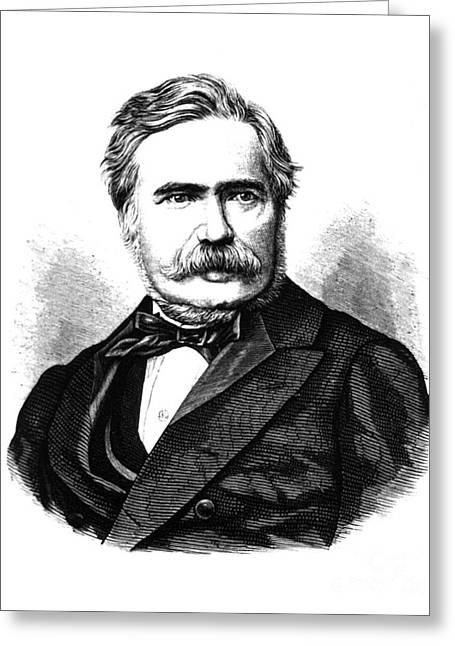 Max Joseph Von Pettenkofer, Bavarian Greeting Card