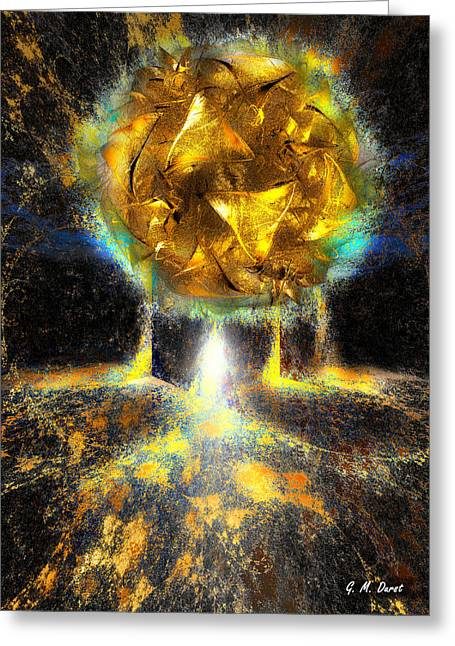 Maximum Liftoff Greeting Card by Michael Durst