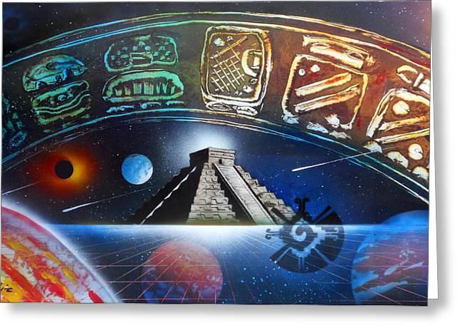 Mayans 2012 Masters Of Time Greeting Card