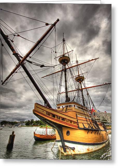 Mayflower II Greeting Card