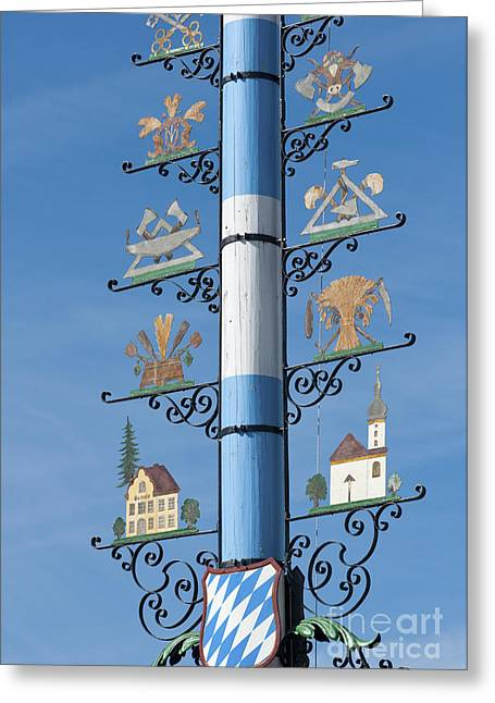 Maypole  Greeting Card by Andrew  Michael