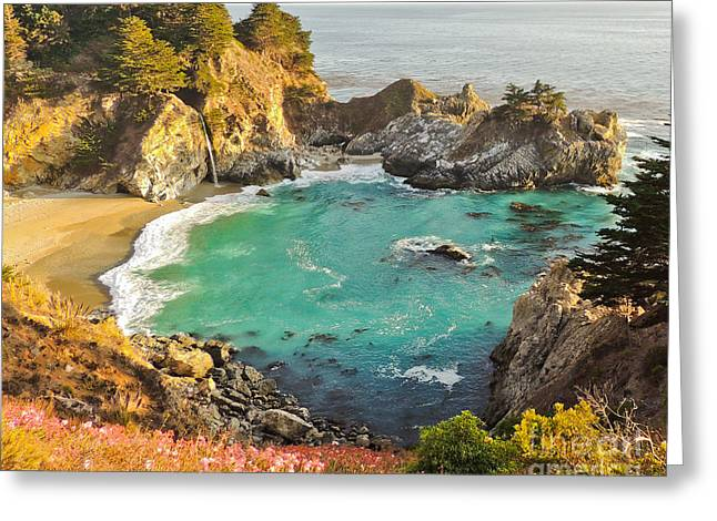 Mc Way Falls Cove Greeting Card