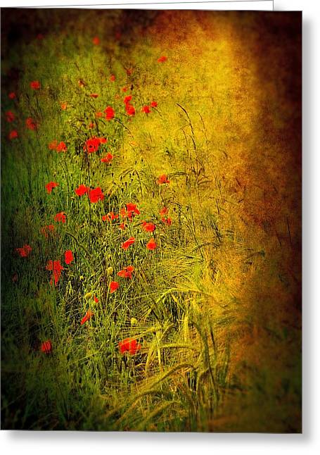 Meadow Greeting Card by Svetlana Sewell