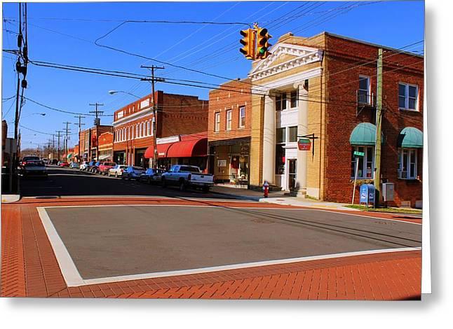 Mebane North Carolina Greeting Card by Bob Whitt