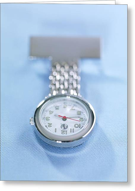 Medical Watch Greeting Card by Tek Image
