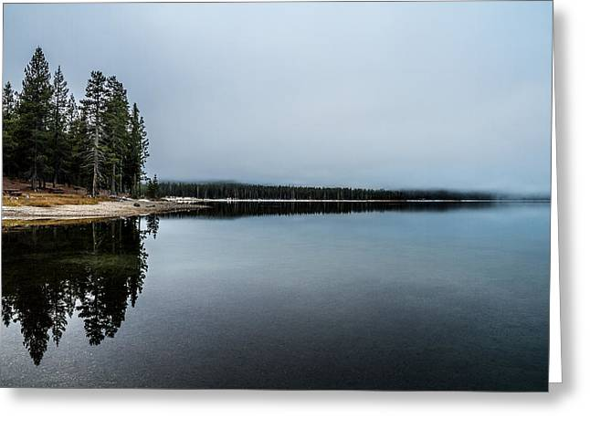 Greeting Card featuring the photograph Medicine Lake  by Randy Wood