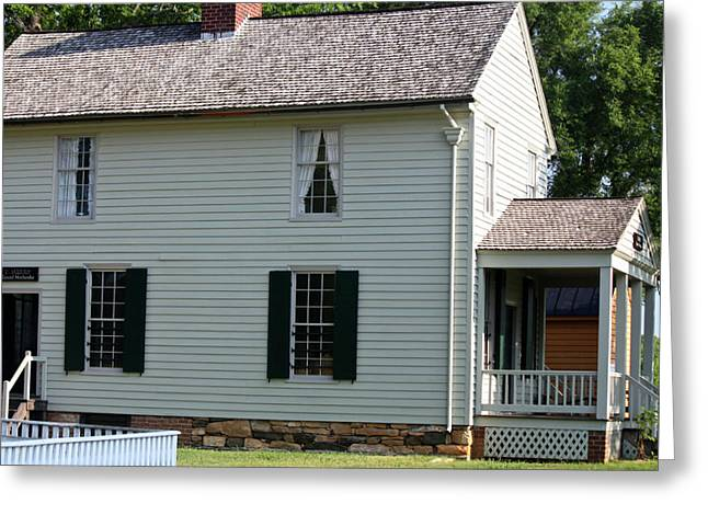 Meeks Store Appomattox Court House Virginia Greeting Card