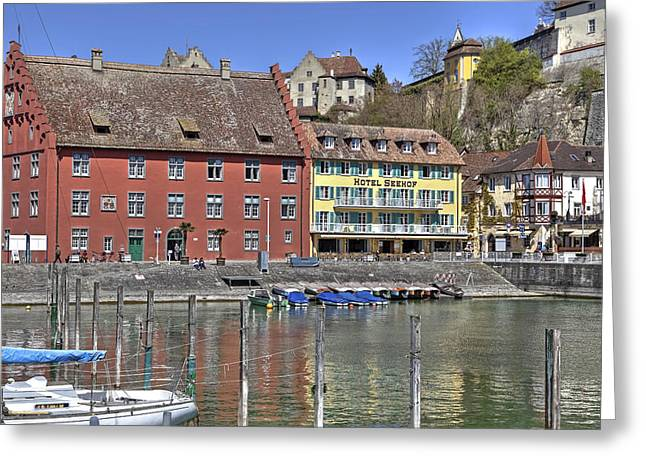 Meersburg - Lake Constance Greeting Card by Joana Kruse