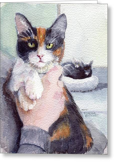 Meggy - Pick Of The Litter Greeting Card
