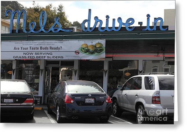 Mel's Drive-in Diner In San Francisco - 5d18014 Greeting Card