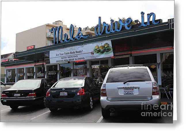 Mel's Drive-in Diner In San Francisco - 5d18027 Greeting Card