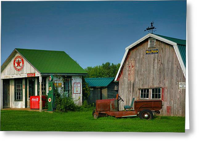 Mementos From The Past I Greeting Card by Steven Ainsworth