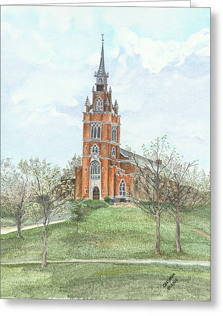 Memorial Chapel  Greeting Card