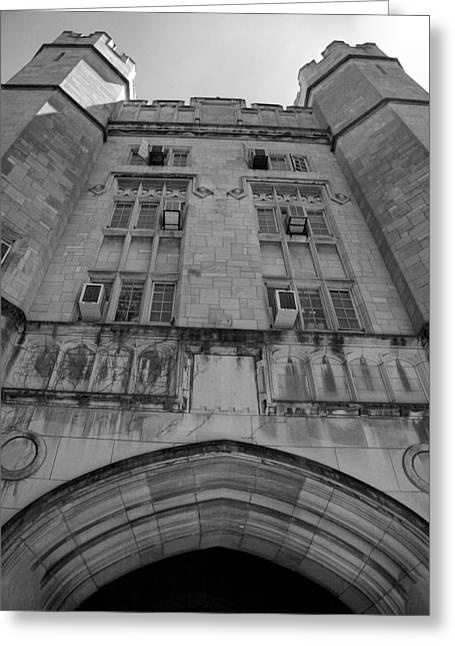 Memorial Hall II Greeting Card by Steven Ainsworth