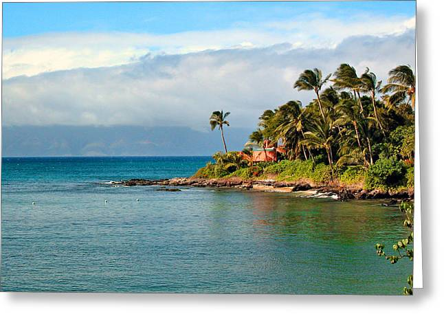 Memories Of Maui Greeting Card by Lynn Bauer