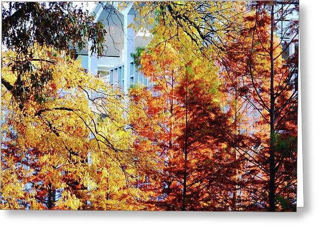 Greeting Card featuring the photograph Memphis College Of Art Overton Park Memphis Tn by Lizi Beard-Ward