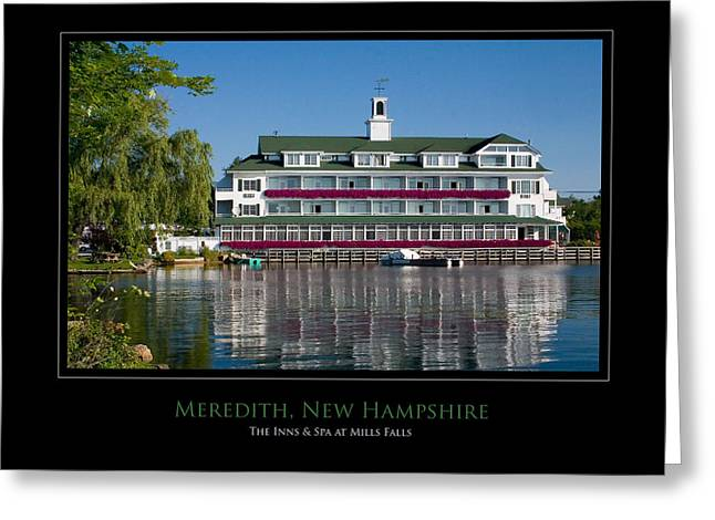 Meredith Inn Greeting Card by Jim McDonald Photography