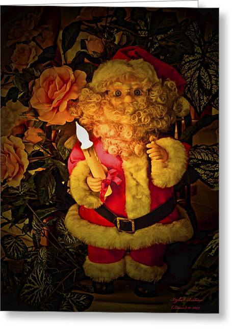 Merry Christmas To You Greeting Card by Itzhak Richter