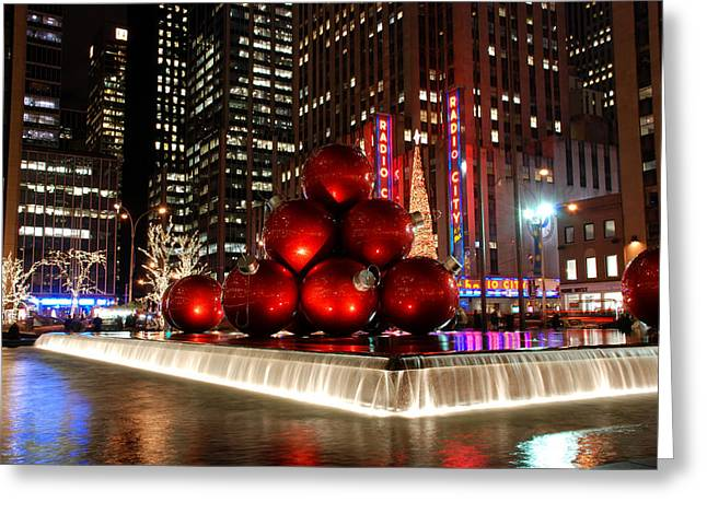 Merry New York City Christmas Greeting Card