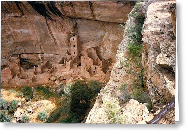 Mesa Verde One Greeting Card by Louis Nugent