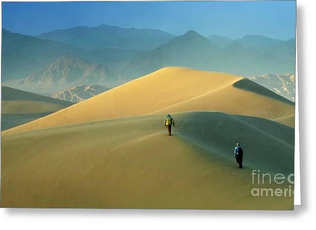 Mesquite Dunes 9 Greeting Card