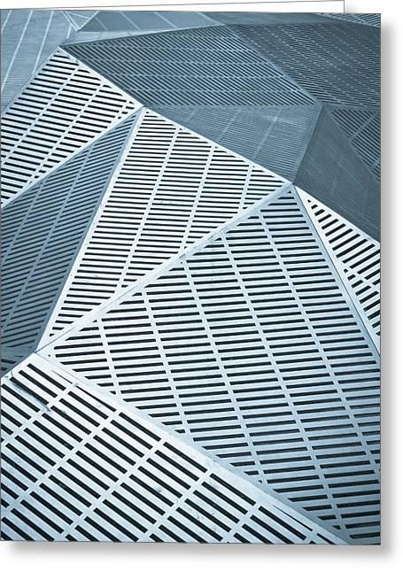 Metallic Frames Greeting Card by Tom Gowanlock