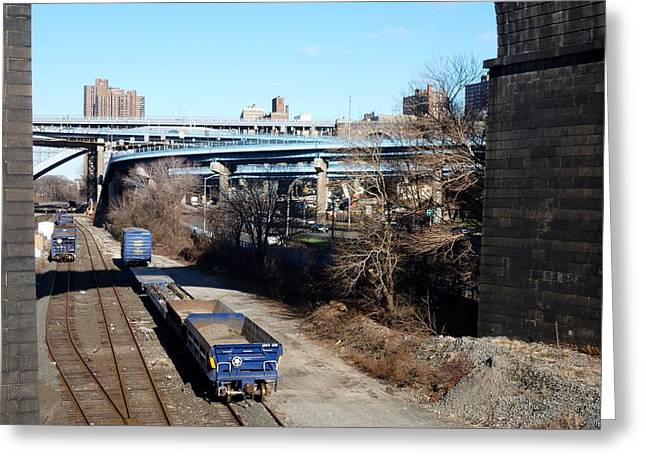 Metro North Greeting Card by Steve Breslow