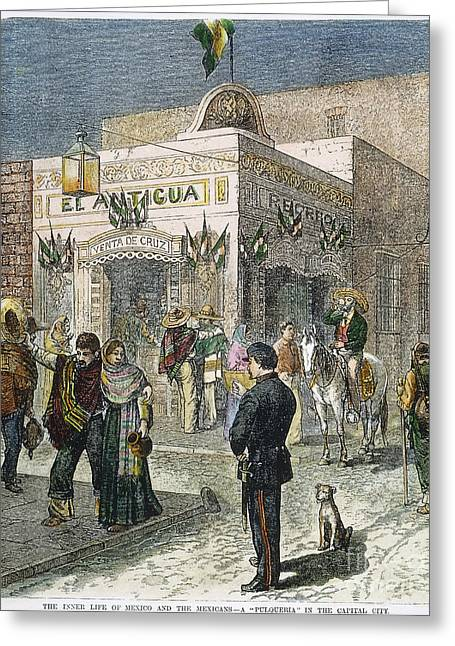 Mexico City, 1881 Greeting Card