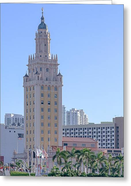 Miami Freedom Tower I Greeting Card