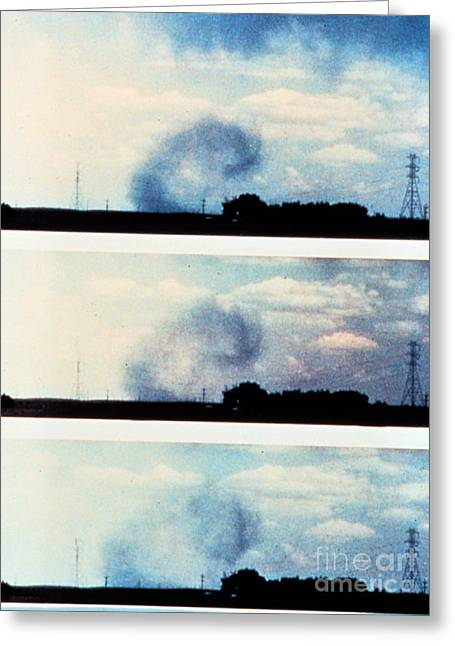 Microburst Greeting Card by Science Source