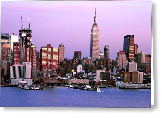 Midtown Skyline Greeting Card by Artistic Photos