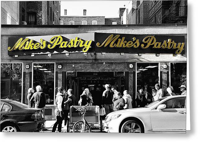 Mikes Pastry In Boston 2011 Greeting Card