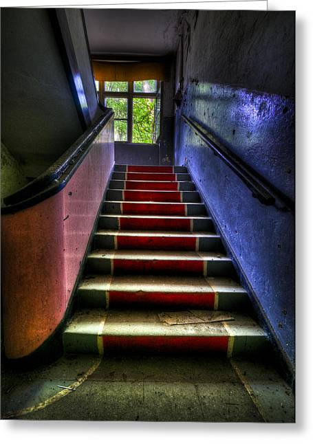 Military Steps Greeting Card by Nathan Wright