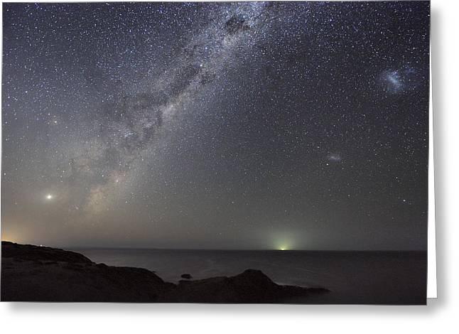 Milky Way Over Flinders, Australia Greeting Card by Alex Cherney, Terrastro.com