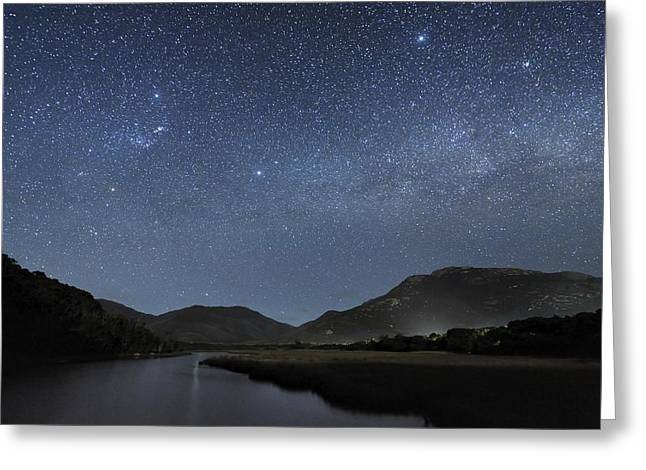 Milky Way Over Wilsons Promontory Greeting Card by Alex Cherney, Terrastro.com
