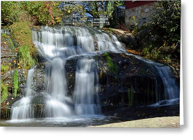 Mill Shoals Falls Greeting Card