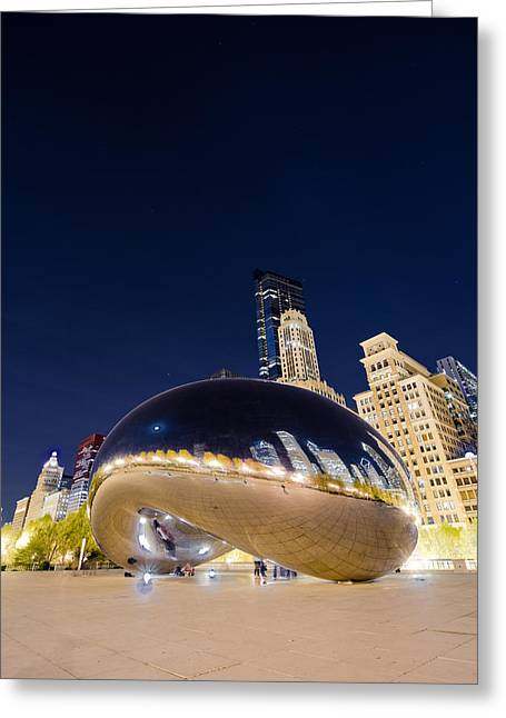 Millennium Bean   Greeting Card by Drew Castelhano