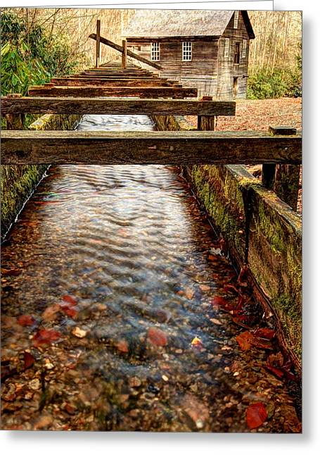 Greeting Card featuring the photograph Mingus Mill by Doug McPherson