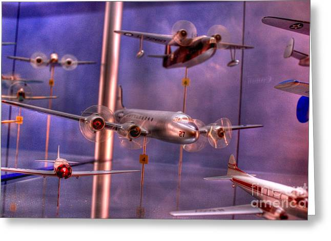 Miniature Airplanes Greeting Card