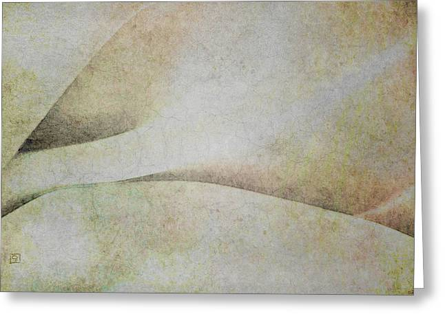 Minimal Abstract With Texture Greeting Card