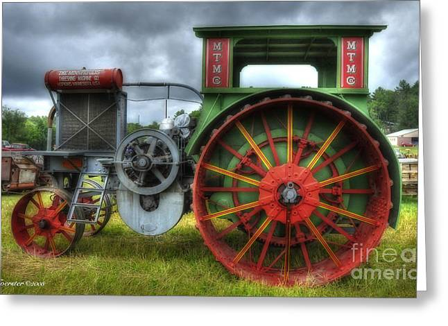 Greeting Card featuring the photograph Minneapolis Threshing Machine Co. by Trey Foerster