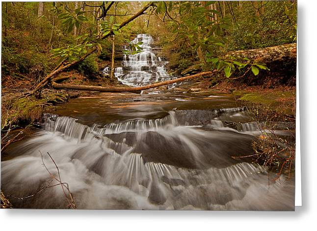 Minnehaha Falls Ga Greeting Card