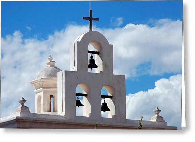Mission Bells Greeting Card