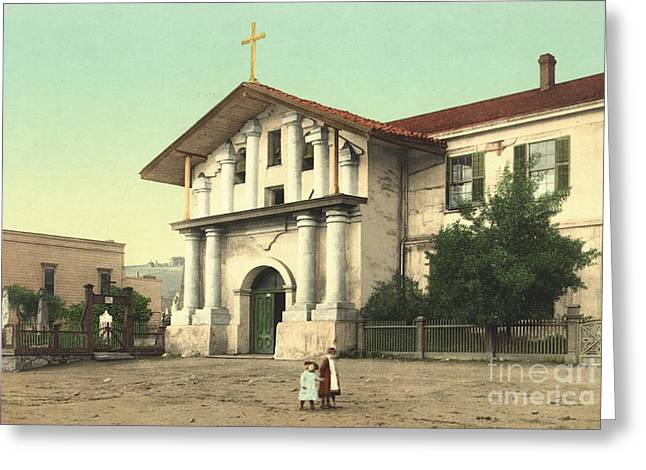 Mission Dolores In San Francisco Greeting Card